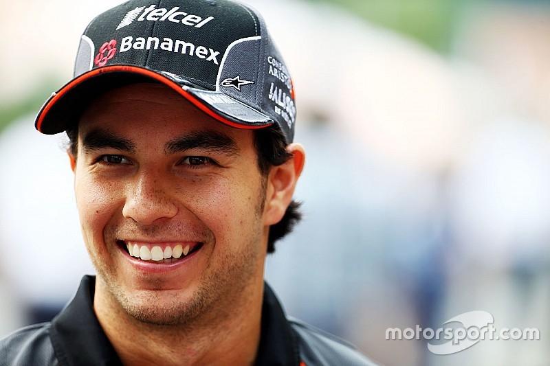Force India bestätigt Sergio Perez für Formel-1-Saison 2016