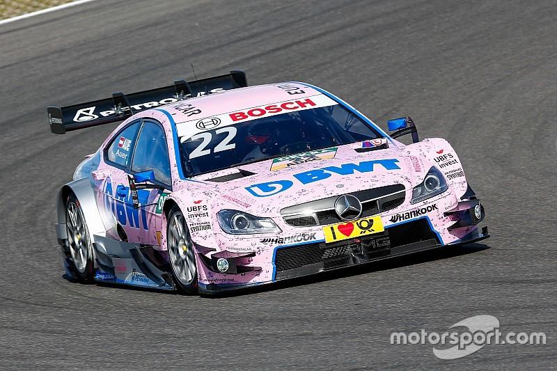 Ауэр завоевал сенсационный поул субботней гонки DTM
