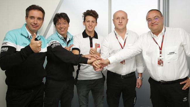 Andrea Locatelli passa al Leopard Racing nel 2015