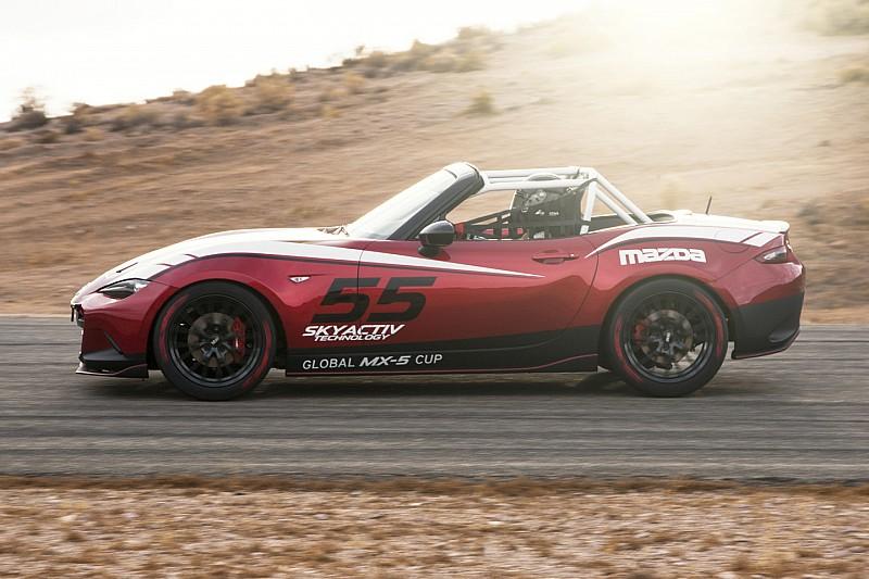 2016 mazda mx-5 miata cup race car