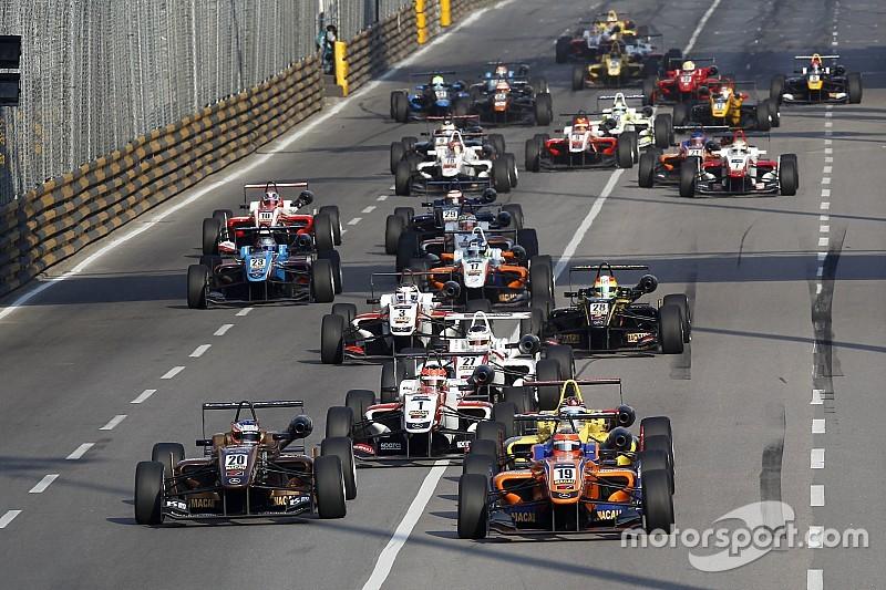 Euro F3 champion Rosenqvist heads Macau entry list