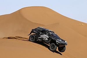 Cross-Country Rally Leg report Sainz heads Day 3 of Rally Morocco, Loeb rolls