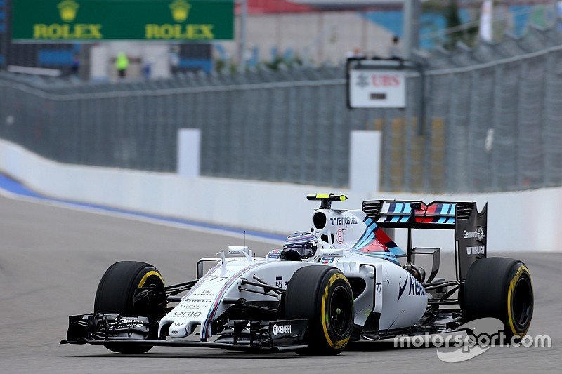 Williams: Understanding the track in wet conditions on Friday Practice for the Russian GP