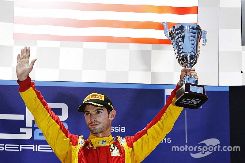 Sochi GP2: Rossi wins shortened race as Lynn crashes