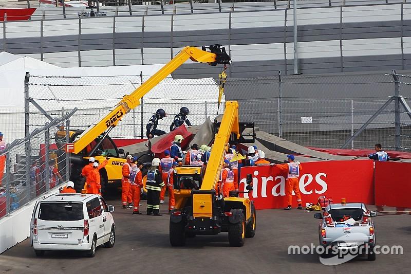 """La F1 """"esquivó una bala"""" con el accidente de Sainz"""