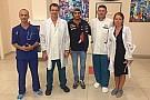 Carlos Sainz deja el hospital tras el duro choque en Sochi