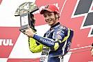 Une course très stressante pour Valentino Rossi
