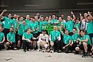 Mercedes se coronó campeón tras la sanción a Raikkonen