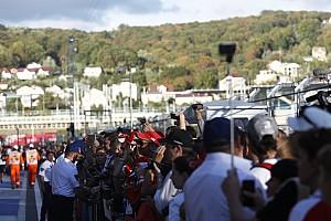 Формула 1 Пресс-релиз Гран При России посетили почти 150 тысяч человек