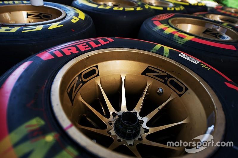 Pirelli revela los compuestos para el GP de México y el resto del campeonato
