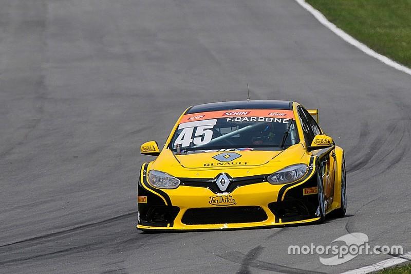 Carbone supera parceiro Barrichello e é pole em Curitiba