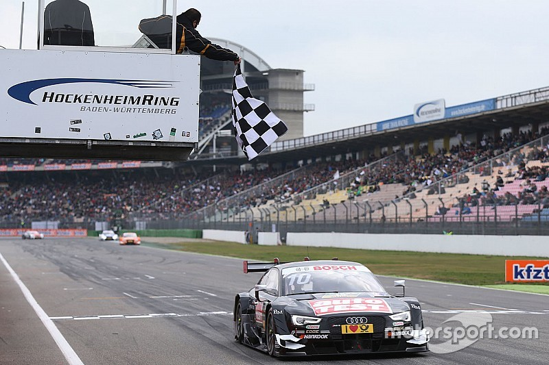 DTM霍根海姆第二场:威尔廉夺年度冠军 施耐德获久违分站冠军