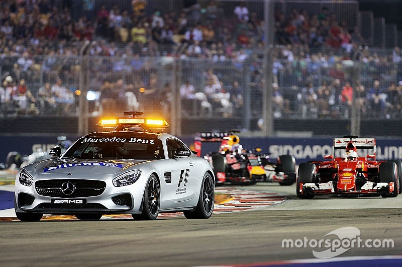 El intruso del GP de Singapur regresa a la cárcel