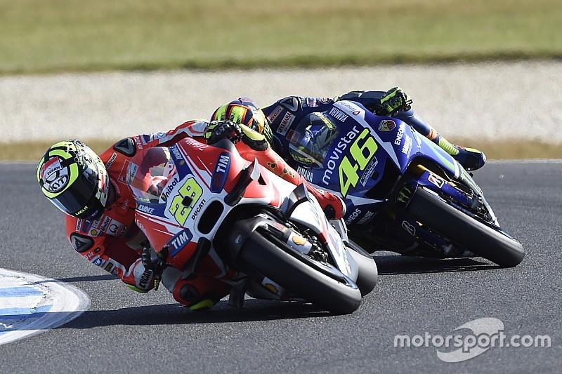 """Los que atacaron a Iannone son """"estúpidos"""", disparó Rossi"""