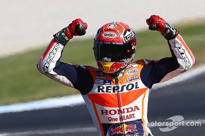 Márquez se defiende de los ataques de Rossi