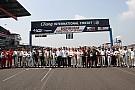 Foto di gruppo per i piloti di TCR e GT Asia