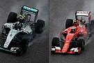Alla scoperta delle turbolenze di Mercedes e Ferrari