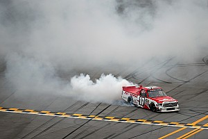 NASCAR Truck Race report Timothy Peters goes back-to-back at Talladega