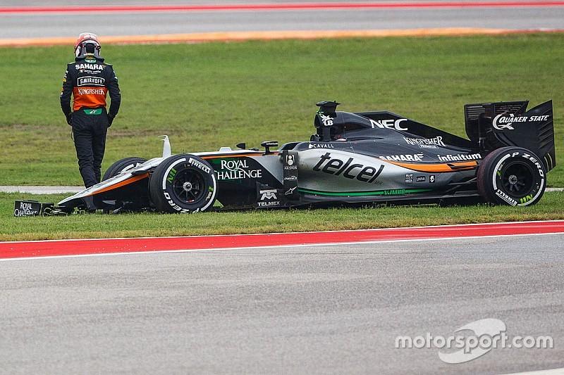 Asa de Hulkenberg cedeu antes de incidente com Ricciardo