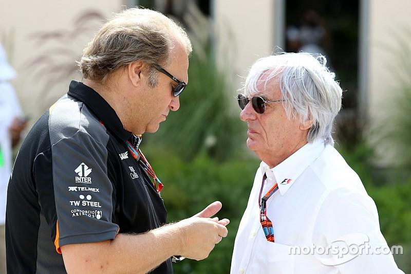 Force India попросила денег у Экклстоуна