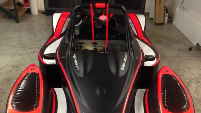 E' pronta la Ligier JS 51-Honda di Cosimo Rea