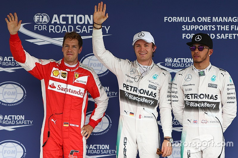 Mexican GP: Rosberg takes pole, Vettel beats Red Bulls