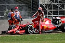 Raikkonen: Fire led to gearbox penalty and brake woes