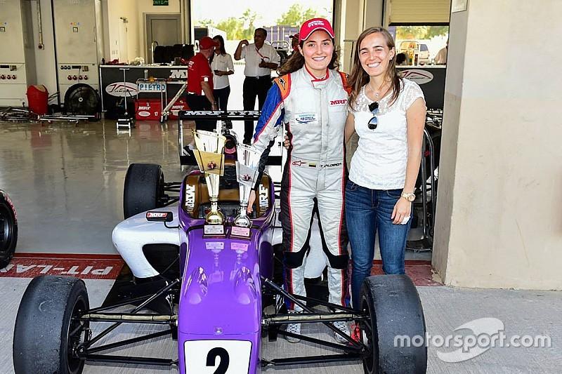 "Tatiana Calderon: ""The most fun I've had racing for a long time!"""