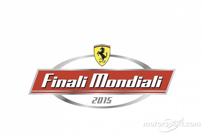 Ferrari nombra a Motorsport.com patrocinador oficial de la Final Mundial 2015