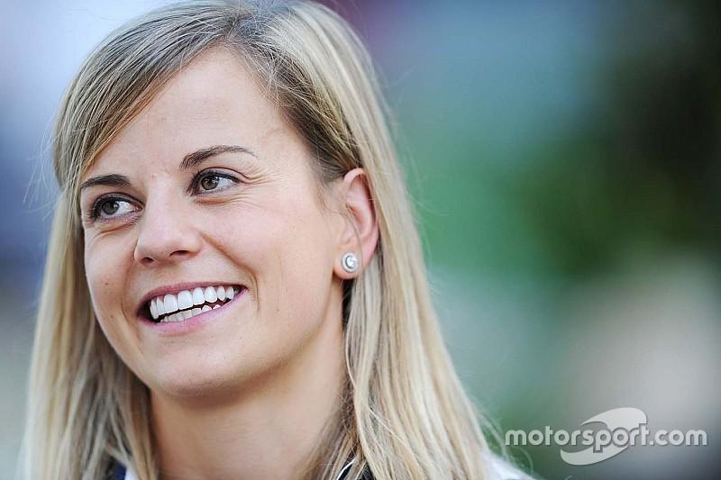 Susie Wolff beendet Motorsport-Karriere nach Formel-1-Saison 2015