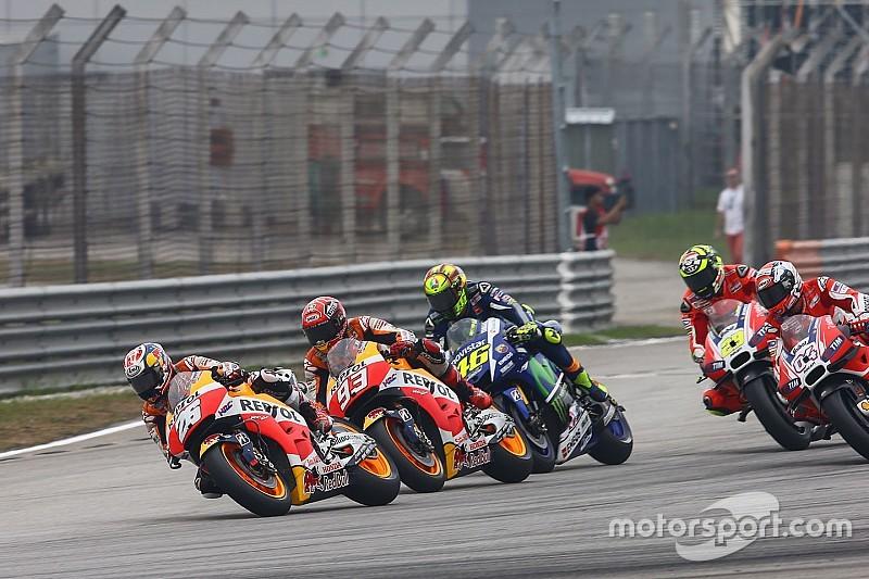 Les pilotes MotoGP ont tous été rappelés à l'ordre