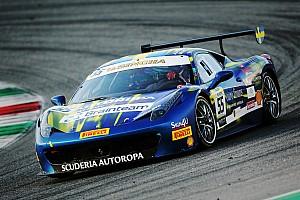 Ferrari Relato de classificação Santoponte bate Caso por 0.055s e é pole no Trofeo Pirelli