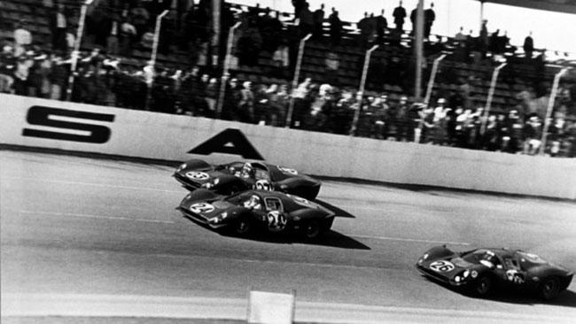 Daytona: Ferrari nel segno della la tripletta del '67