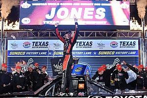 NASCAR Truck Race report Erik Jones extends points lead with Texas win