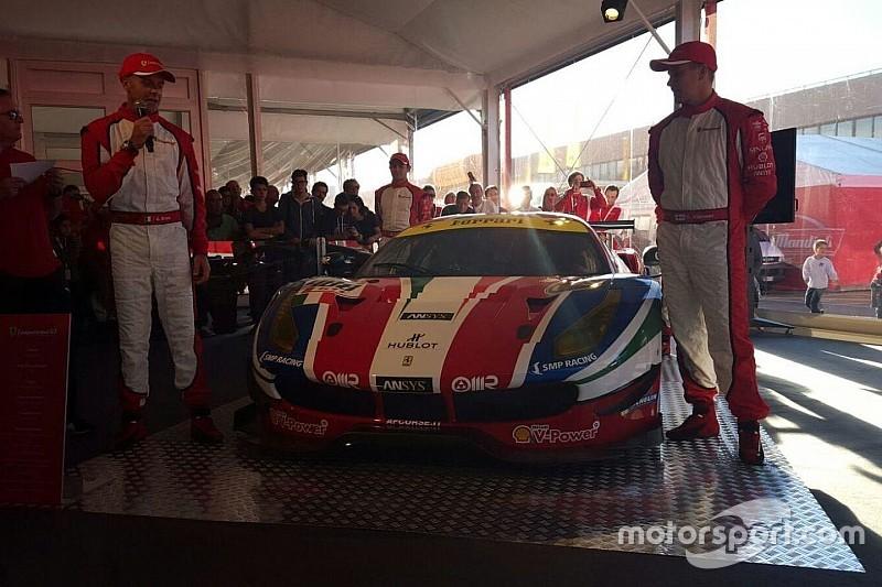 Video: De nieuwe Ferrari 488 GTE krijgt livery voor debuut