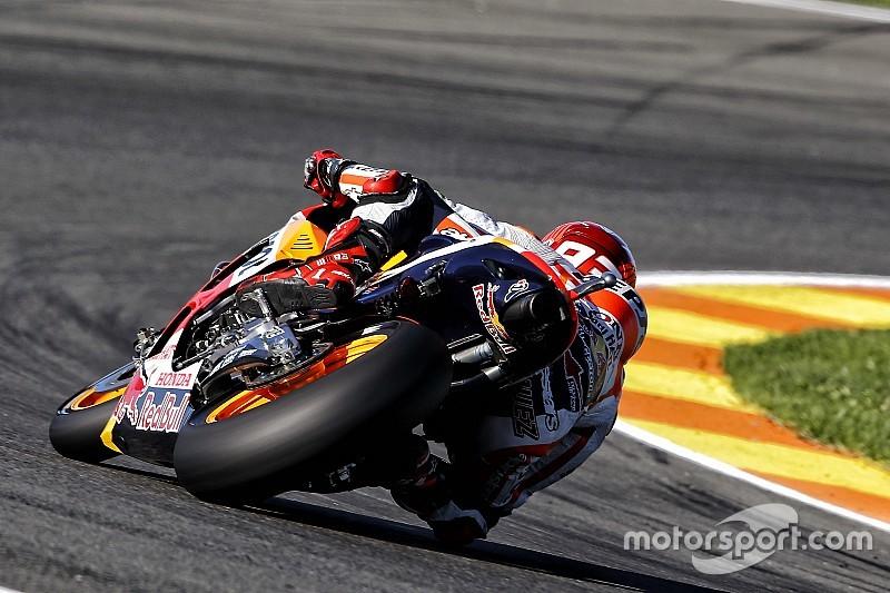Маркес быстрее всех в первый день тестов в Валенсии