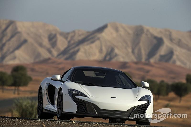 McLaren dévoile sa 650S Spider Al Sahara 79 à Dubaï