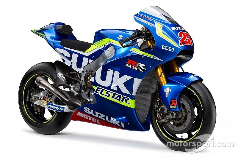 Suzuki представила мотоцикл для будущего сезона MotoGP