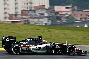 Formule 1 Actualités Force India vise la place de Williams en 2016