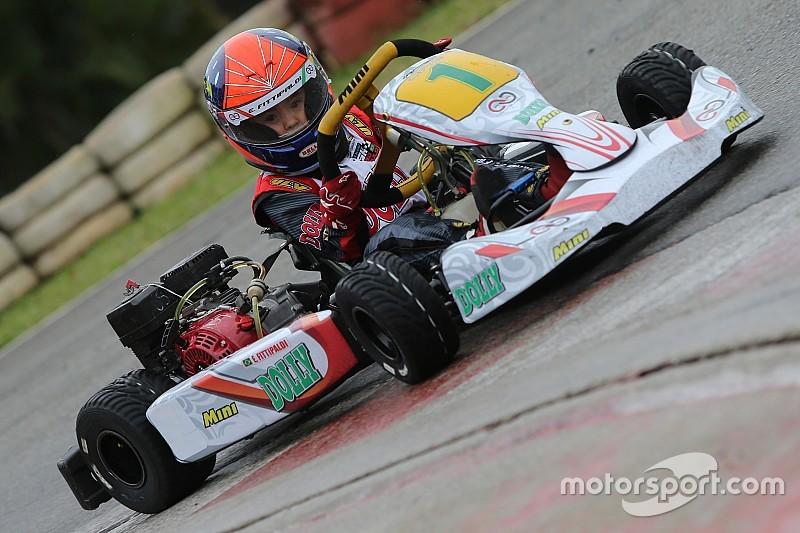 No kart, Emmo Fittipaldi conquista 1º título da carreira