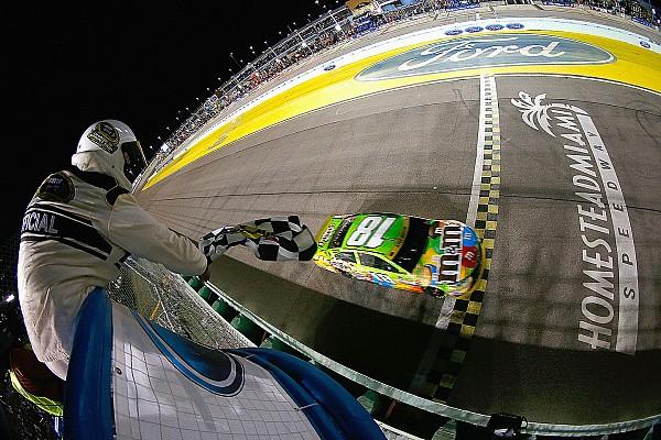 NASCAR Cup Kyle Busch ganó y se consagró campeón en Homestead