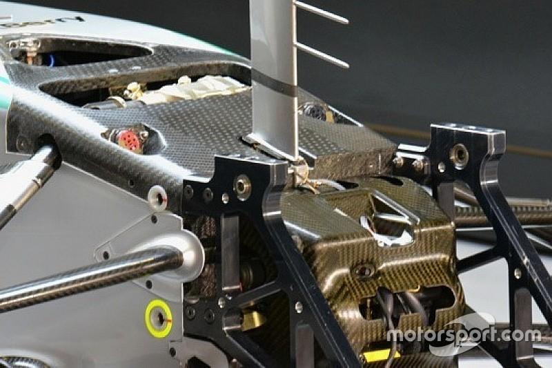 Mercedes: il terzo elemento adesso è idraulico