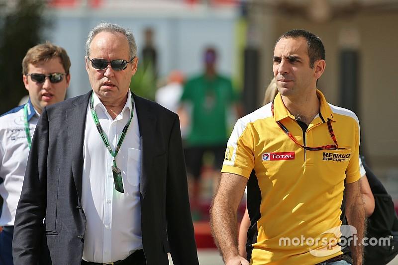Pas d'annonce Renault F1 avant la semaine prochaine
