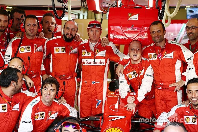 Räikkönen en habitué des podiums nocturnes!