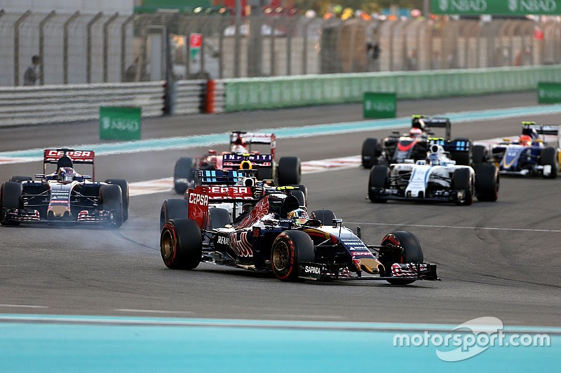 Toro Rosso finish the season with a reliable race at Yas Marina