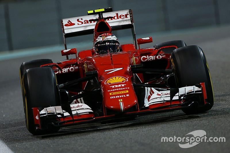 Ferrari: A third place for Kimi Raikkonen at the night race in Abu Dhabi