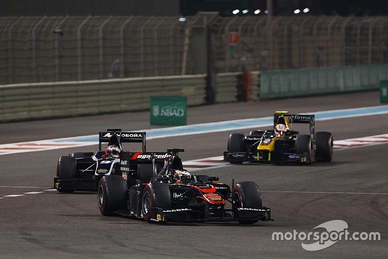 Listos los pilotos para el test de Abu Dhabi en GP2