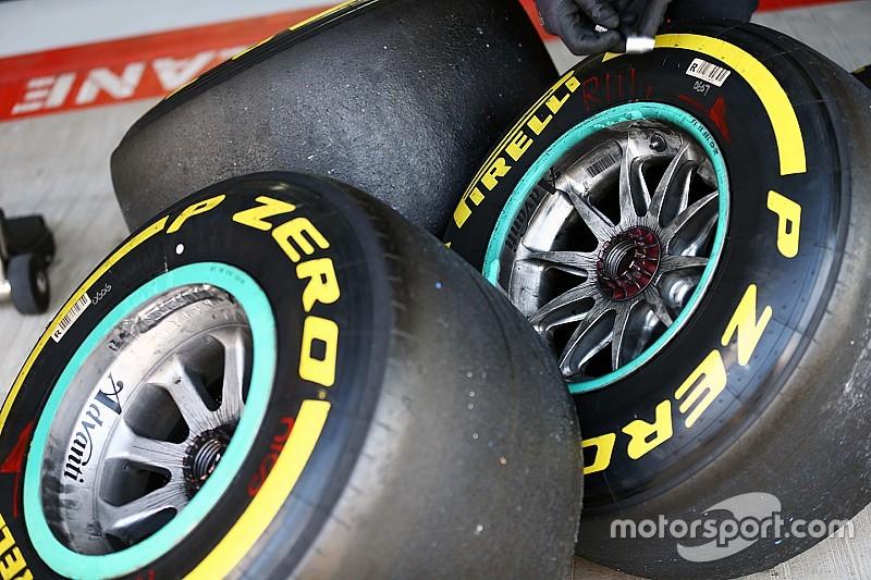 倍耐力就2016赛季的全新轮胎规则进行详细说明