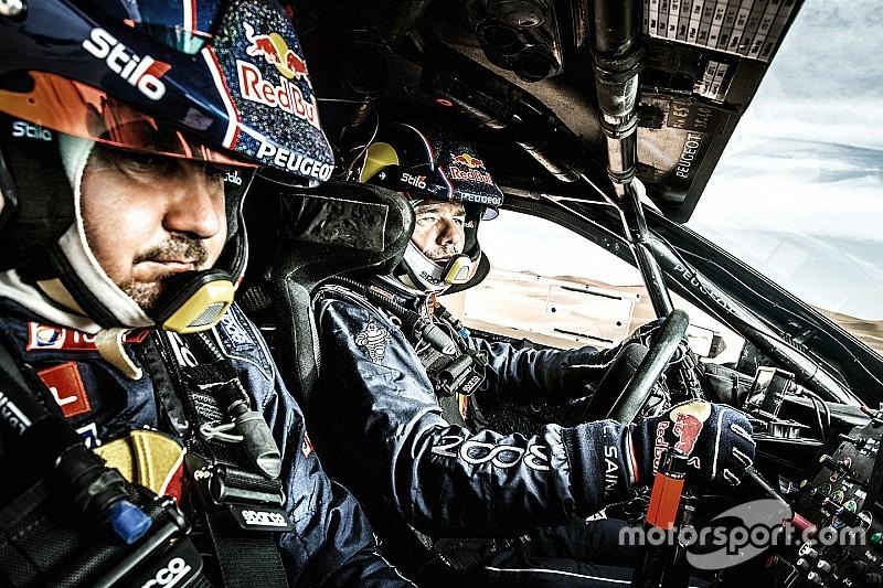 """Loeb sur le Dakar : """"Le cerveau fonctionne sur deux pistes parallèles"""""""