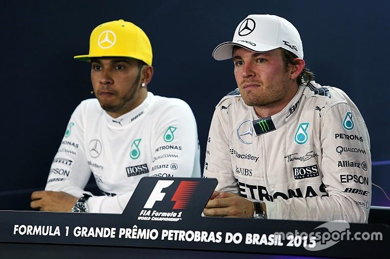 Wolff repete ameaça a Hamilton e Rosberg por fim de tensão